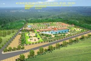 Quy hoạch chi tiết khu vực I & II Đền thờ Hai Bà Trưng, Mê Linh, Vĩnh Phúc