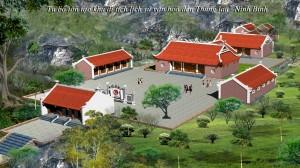 Tu bổ tôn tạo khu di tích lịch sử văn hoá đền Thung Lau, Ninh Bình